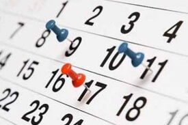 Calendari competicions