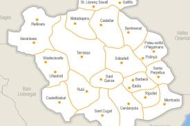 Mapa d'instal.lacions