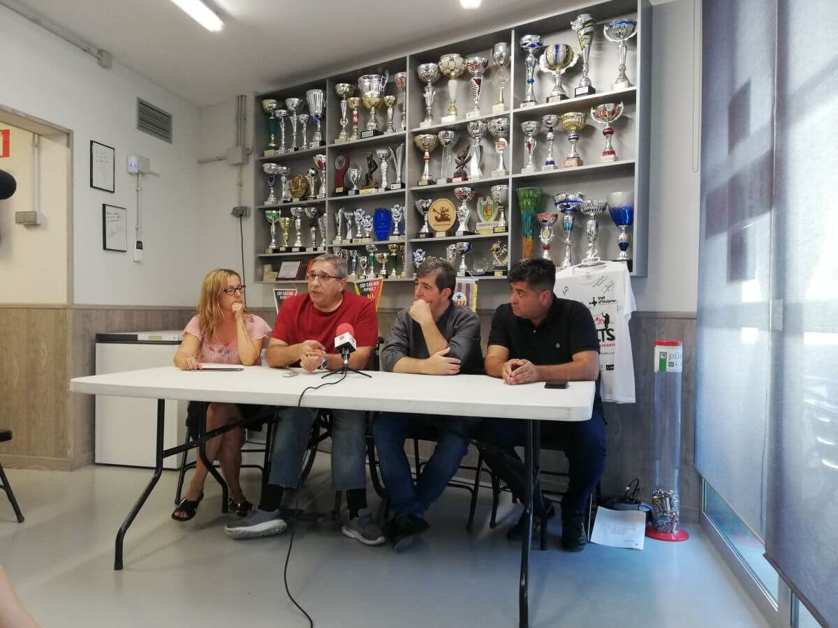 L'equip de futbol 7 Horitzó-Can Mir es presenta en societat